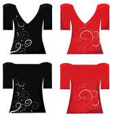 T-shirt design. Woman t-shirt . — Stock Vector