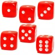 Постер, плакат: The dice game
