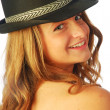 Stock Photo: Womwith Hat 136