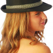 Stock Photo: Womwith Hat 137