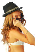 Woman with Hat 124 — Stock Photo