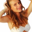 Exuberant girl 260 — Stock Photo