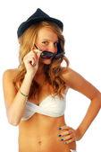 Exuberant girl 183 — Stock Photo