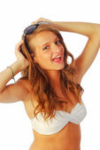 Exuberant girl 258 — Stock Photo