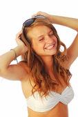 Exuberant girl 259 — Stock Photo