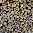 "Stock Photo: ""storage of firewood"""