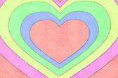 Papier serca — Zdjęcie stockowe