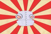 Robot paper — Fotografia Stock