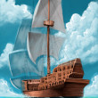 Galleon — Stock Photo