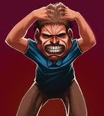 Angry — Stock Photo