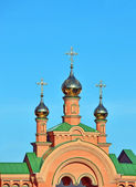 Eastern orthodox cathedral — Stockfoto