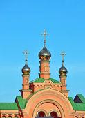 Eastern orthodox cathedral — Stok fotoğraf