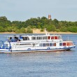 Stock Photo: Motor travel river ship