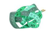 Yeşil bant ölçme — Stok fotoğraf