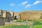 Muro di fortezza — Foto Stock
