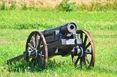 Ancient artillery cannon — Stock fotografie