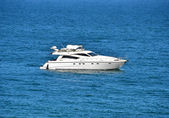 Motor yacht — Stock Photo