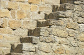 要塞の壁の階段 — ストック写真