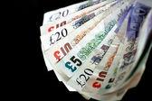 English cash — Stock Photo