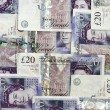 Stock Photo: English money background
