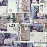 English money background — Stock Photo #11642796