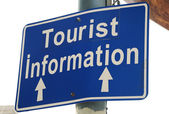 Tourist Information — Stock Photo