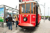 Taksim Tram 1875 — Stock Photo