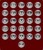 Vector alfabet. — Stockvector