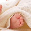 Cute baby feet — Stock Photo #10829381