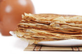 Beautiful fried pancakes — Stock Photo