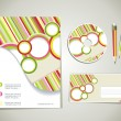 Editable corporate Identity template — Imagen vectorial