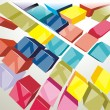 Abstract Vector Background - Stock vektor