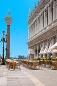 St Mark square, Venice — Stock Photo
