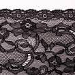 Stock Photo: Black lace