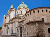 Cathedral of Brescia, Italy — Stock Photo