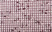 Plaid fabric on a white — Stock Photo