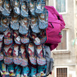 Souvenir shoes in a store in Venice — Stock Photo