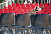 Empty seats for viewers — Stock Photo