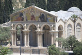 Church of the gethsemane, jerusalem — Stock Photo