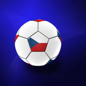 Football artwork — Stock Photo