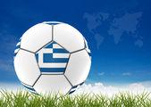 足球图稿 — 图库照片