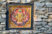 Bhutan wall — Stock Photo