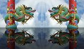 Estátuas de dragão — Foto Stock