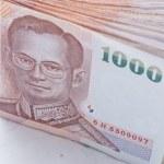 Thai banknotes — Stock Photo #11119380
