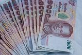 Thajské bankovky — Stock fotografie