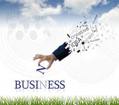 Business wording — Foto Stock