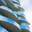 Wavy Balconies — Stock Photo