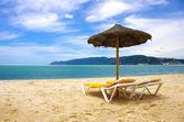 Beach sunshade — Stock Photo