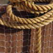 Rope and Net - Stock Photo