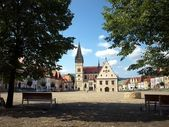Square Bardejov — Stock Photo